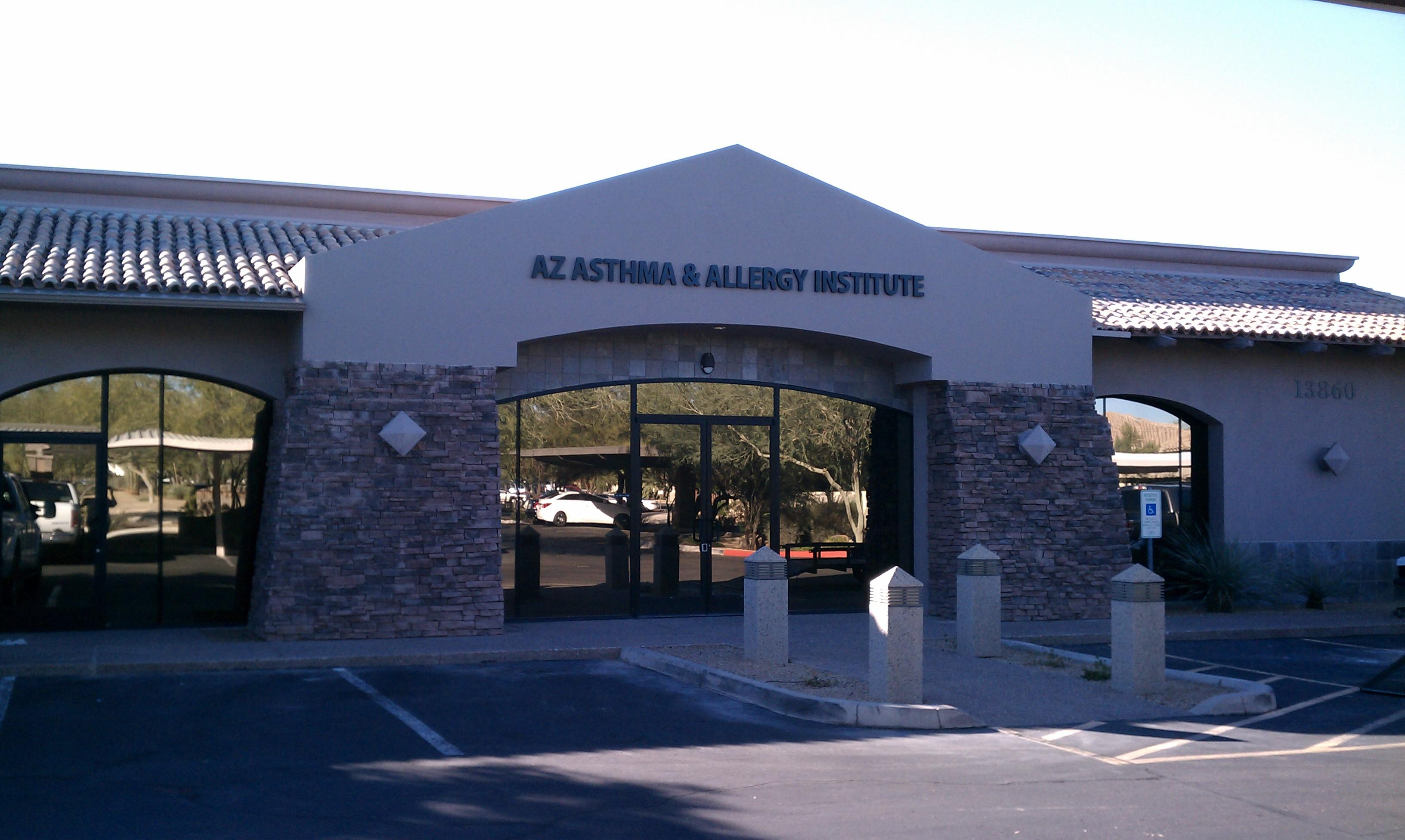 Arizona Asthma and Allergy Institute SCottsdale AZ Location
